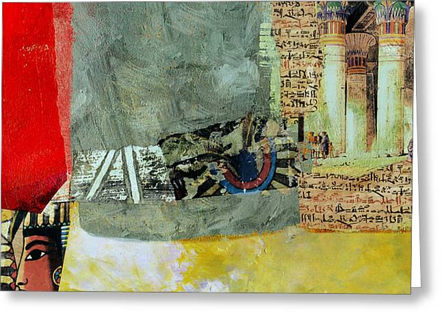 Pyramids Greeting Cards - Egyptian Culture 48 Greeting Card by Corporate Art Task Force