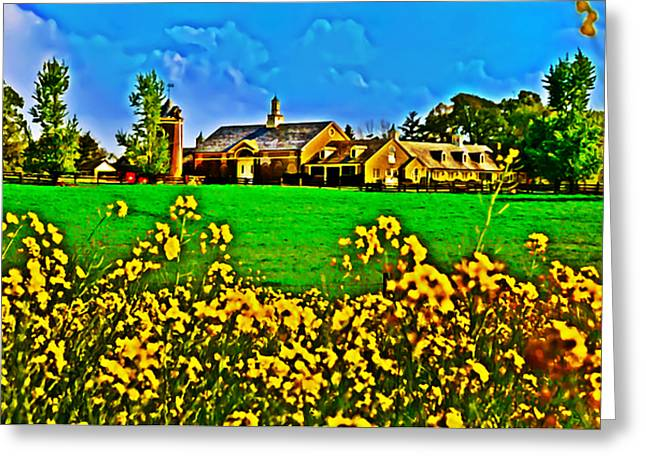 Erdenheim Farm Greeting Cards - Erdenheim Farm Greeting Card by Bill Cannon