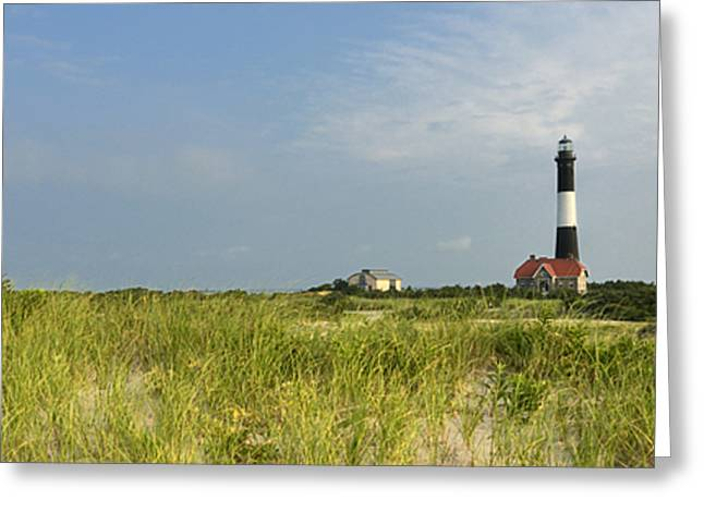 Fire Island Lighthouse Greeting Card by Vicki Jauron