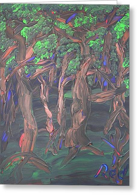 Joshua Redman Greeting Cards - Forest Greeting Card by Joshua Redman