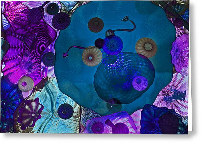 China Beach Greeting Cards - Glass Menagerie Greeting Card by James David Mancini