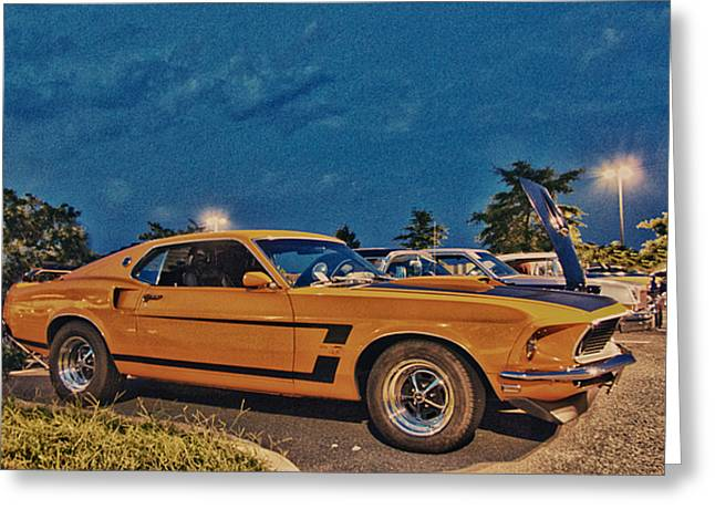 Hdr Photos Greeting Cards - HDR Mustang Muscle Car Cars Photos Pictures Photography Cool Gallery For Sale Selling Buy Classic  Greeting Card by Pictures HDR