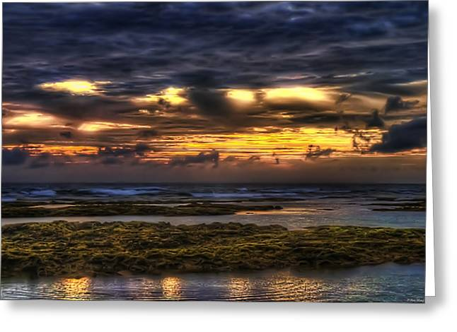 Lowtide Greeting Cards - Heaven on Fire Greeting Card by Ryan Wyckoff