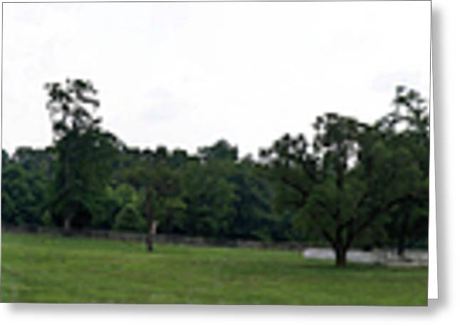 Richmond-lynchburg Stage Road Greeting Cards - Historic Appomattox Panorama  Greeting Card by Teresa Mucha