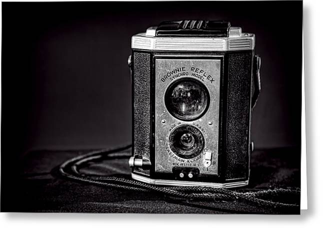 Rochester Greeting Cards - Kodak Brownie Greeting Card by Scott Norris