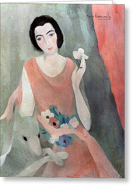 20th Greeting Cards - Laurencin - Guillaume Greeting Card by Granger