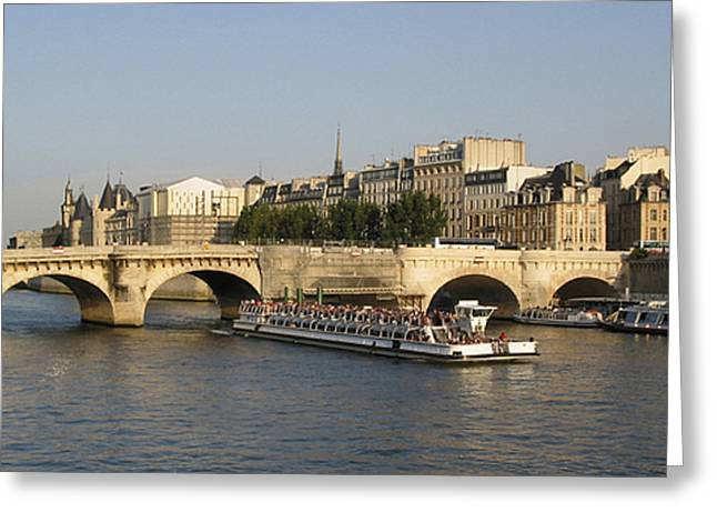 Facades Greeting Cards - Le Pont Neuf. Paris. Greeting Card by Bernard Jaubert
