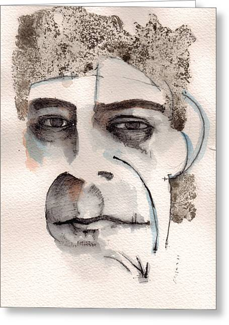 Lou Greeting Cards - Lou Reed Greeting Card by Mark M  Mellon