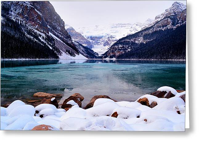 Rocky Mountain National Park Framed Prints Greeting Cards - Louise Ice Greeting Card by Andrea Hazel Ihlefeld
