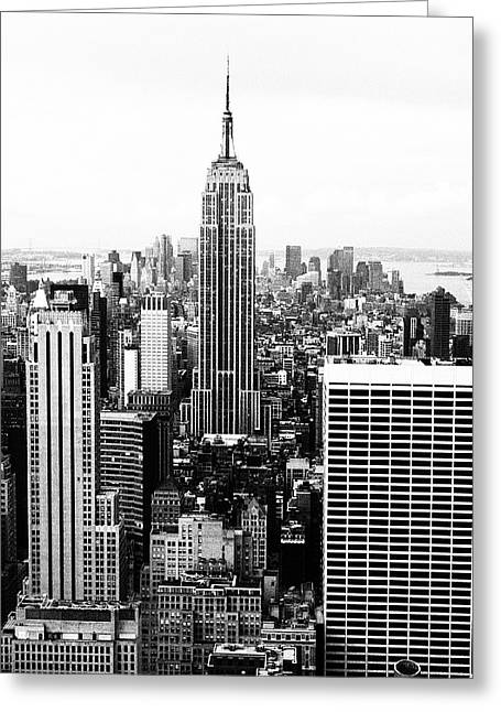 Randy Greeting Cards - NYC Retro  Greeting Card by Randy Levenson
