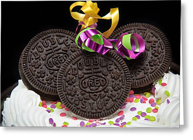 Oreo 100 Years Greeting Cards - Oreo Party Greeting Card by Andee Design