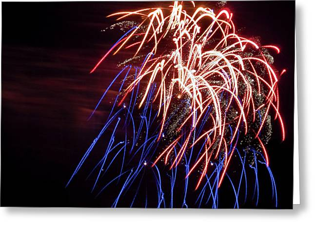 Firecracker Greeting Cards - Party Time.. Greeting Card by Nina Stavlund
