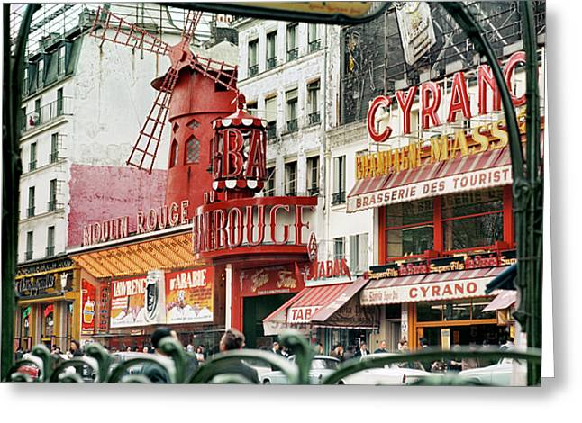 Blanche Greeting Cards - Place Blanche Greeting Card by Hans Mauli
