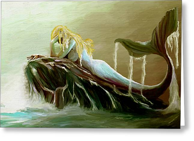 Sirens Remorse Greeting Card by James Shepherd