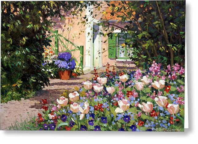 Spring Flowers  Greeting Card by Roelof Rossouw