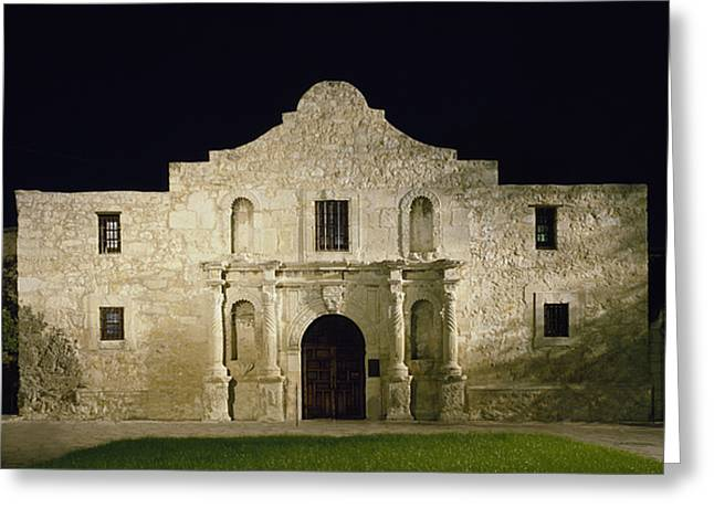 1990 Greeting Cards - TEXAS: THE ALAMO, c1990 Greeting Card by Granger
