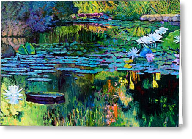 The Abstraction Of Beauty One And Two Greeting Card by John Lautermilch