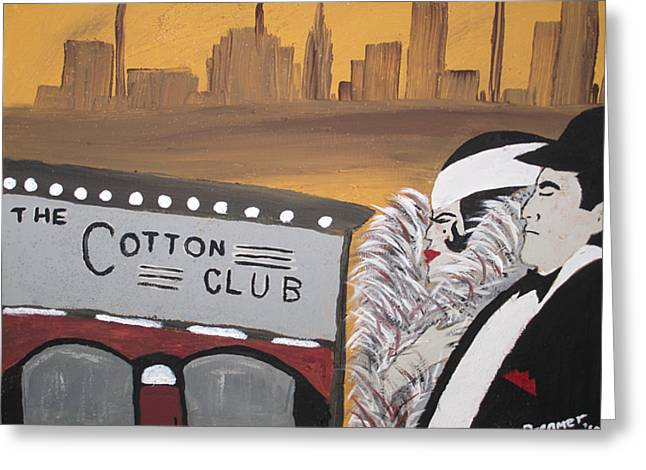 Cotton Club Greeting Cards - The Cotton Club Greeting Card by Sherry Haney