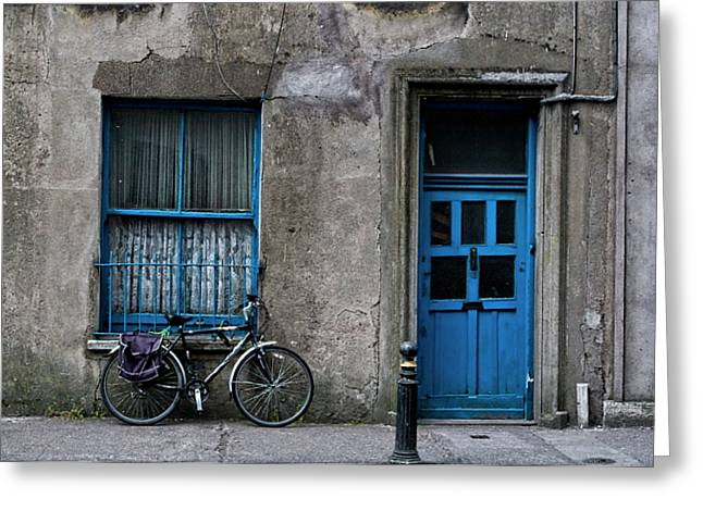 Recently Sold -  - Old Street Greeting Cards - The Streets of Cork Greeting Card by Michelle Sheppard