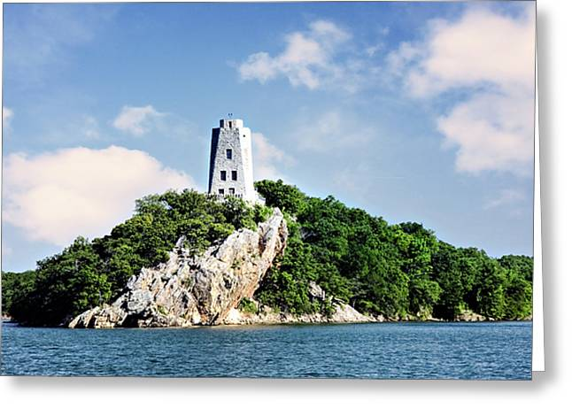 Nature Center Greeting Cards - Tucker Tower 2 Greeting Card by Lana Trussell