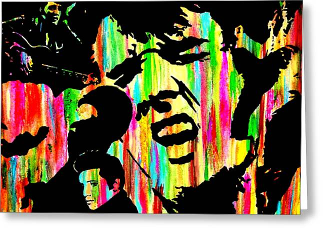 Mike Obrien Greeting Cards - Where Is Elvis Greeting Card by Mike OBrien