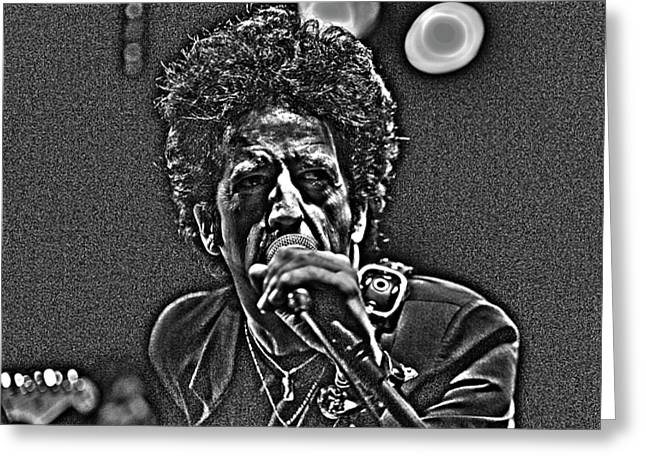 Jeff Ross Greeting Cards - Willie Nile Greeting Card by Jeff Ross
