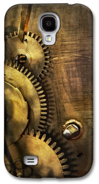Mechanism Galaxy S4 Cases - Steampunk - Toothy  Galaxy S4 Case by Mike Savad
