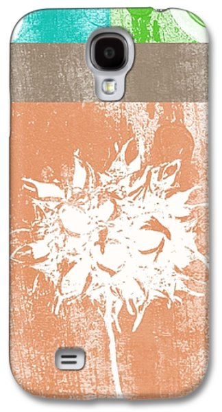 Green Galaxy S4 Cases - Balance Galaxy S4 Case by Linda Woods