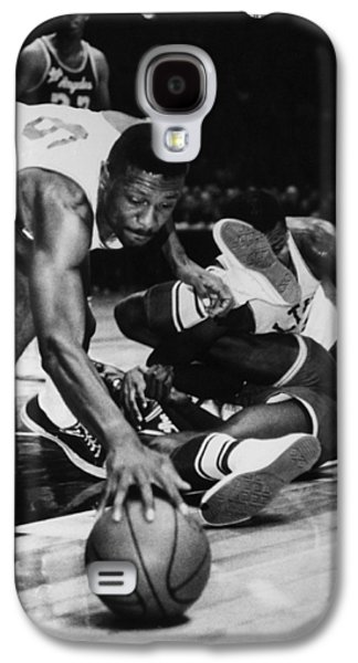 Boston Celtics Galaxy S4 Cases - Bill Russell (1934- ) Galaxy S4 Case by Granger