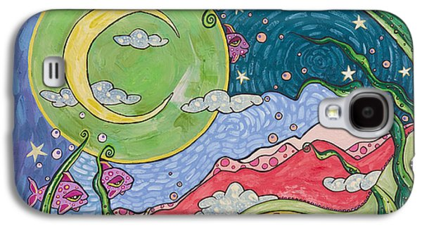 Dreamscape Galaxy S4 Cases - Daydreaming Galaxy S4 Case by Tanielle Childers
