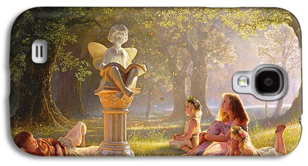 Dressed Galaxy S4 Cases - Fairy Tales  Galaxy S4 Case by Greg Olsen