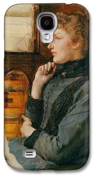 Far Away Thoughts Galaxy S4 Case by Sir Lawrence Alma-Tadema