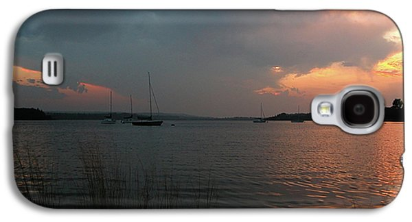 Occupy Beijing Galaxy S4 Cases - Glenmore reservoir - Sunset 3 Galaxy S4 Case by Stuart Turnbull
