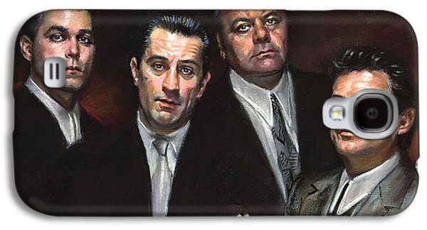 Americans Galaxy S4 Cases - Goodfellas Galaxy S4 Case by Ylli Haruni
