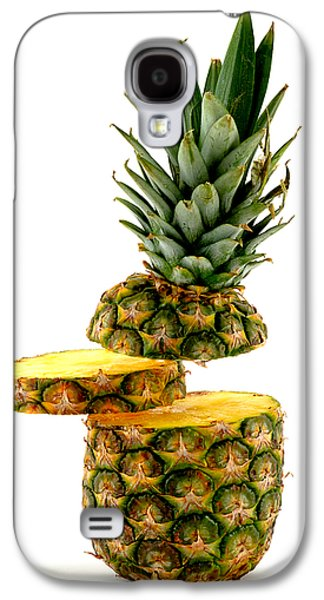 Biting Galaxy S4 Cases - Have a slice Galaxy S4 Case by Gert Lavsen