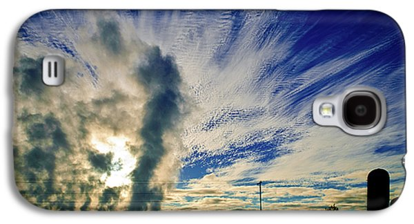 Appleton Photographs Galaxy S4 Cases - Industry Versus The Atmosphere Galaxy S4 Case by Shutter Happens Photography