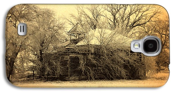 Old School Houses Galaxy S4 Cases - Old School House Galaxy S4 Case by Julie Hamilton
