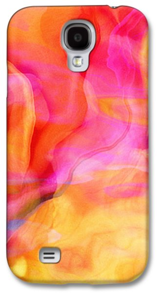 Abstract Digital Digital Galaxy S4 Cases - Rosewater - Abstract Art Galaxy S4 Case by Jaison Cianelli