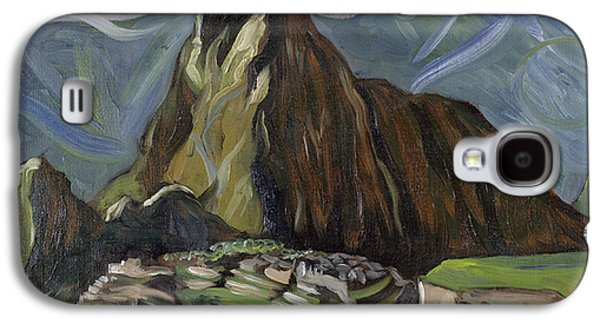 Visionary Artist Galaxy S4 Cases - Sacred Valley Galaxy S4 Case by Susan Tower