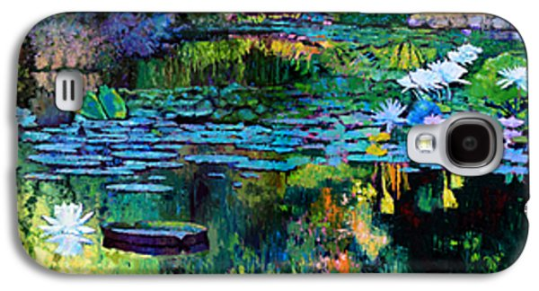 Reflections In Water Galaxy S4 Cases - The Abstraction of Beauty one and two Galaxy S4 Case by John Lautermilch