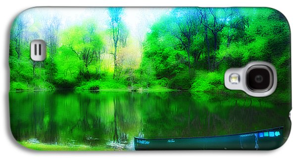 Nature Center Pond Galaxy S4 Cases - The Old Fishin Hole Galaxy S4 Case by Bill Cannon