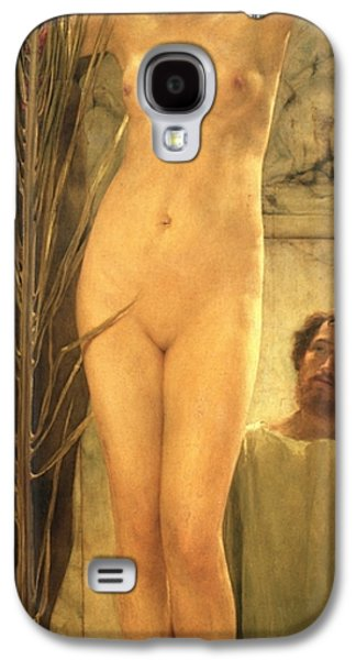 The Sculptor's Model Galaxy S4 Case by Sir Lawrence Alma-Tadema