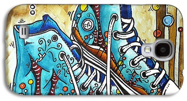 Whimsical Shoes By Madart Galaxy S4 Case by Megan Duncanson