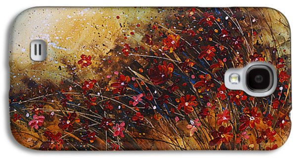 Pallet Knife Galaxy S4 Cases - Wild Galaxy S4 Case by Michael Lang