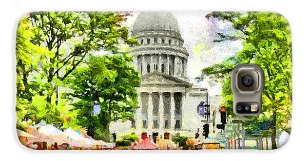 Saturday In Madison Galaxy S6 Case by Anthony Caruso