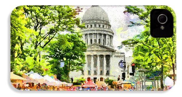 Saturday In Madison IPhone 4 / 4s Case by Anthony Caruso