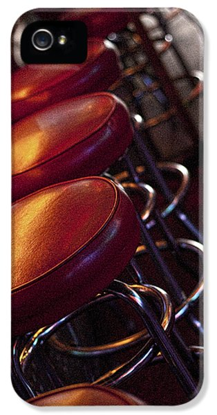 Barstools iPhone 5 Cases - Front Row Seating iPhone 5 Case by Sheri Bartoszek