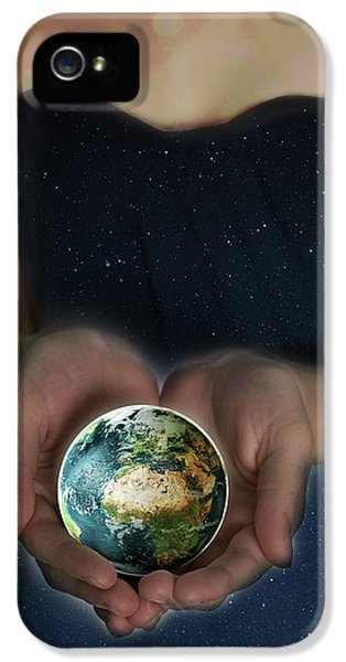Gaia iPhone 5 Cases - Gaia iPhone 5 Case by Lisa Knechtel