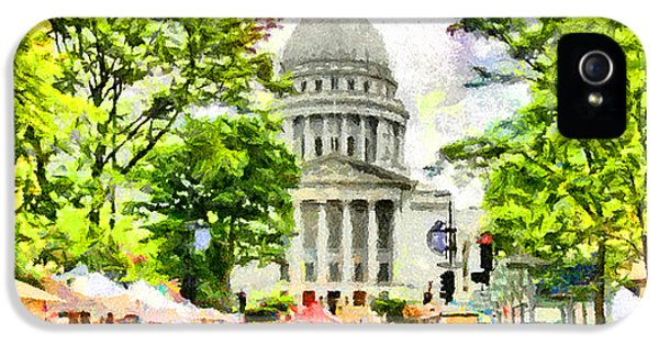 Saturday In Madison IPhone 5 / 5s Case by Anthony Caruso