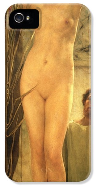 The Sculptor's Model IPhone 5 / 5s Case by Sir Lawrence Alma-Tadema